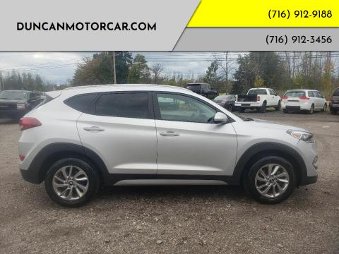 2017 Hyundai Tucson for sale at DuncanMotorcar.com in Buffalo NY