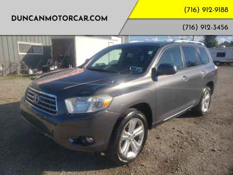 2010 Toyota Highlander for sale at DuncanMotorcar.com in Buffalo NY