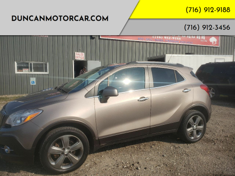 2013 Buick Encore for sale at DuncanMotorcar.com in Buffalo NY