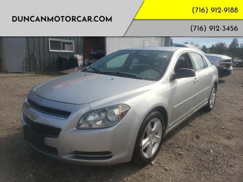 2009 Chevrolet Malibu for sale at DuncanMotorcar.com in Buffalo NY