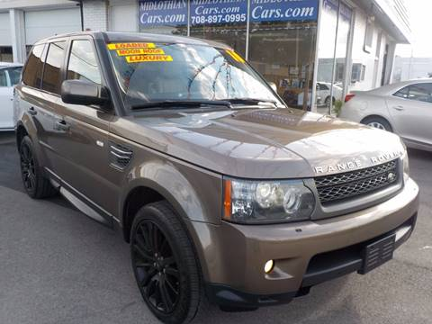 2010 Land Rover Range Rover Sport for sale in Midlothian, IL