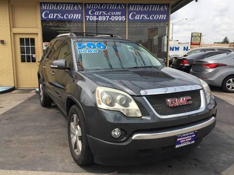 2011 GMC Acadia for sale in Midlothian, IL