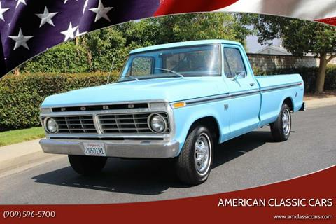 1974 Ford F-100 for sale at American Classic Cars in La Verne CA