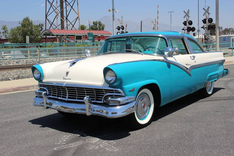 1956 Ford Crown Victoria for sale at American Classic Cars in La Verne CA
