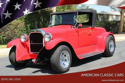 1924 Dodge Street Rod for sale at American Classic Cars in La Verne CA