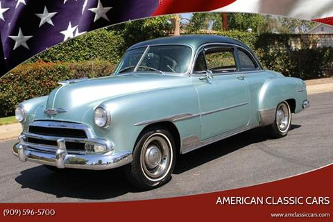 1951 Chevrolet DELUXE SPORT CPE for sale at American Classic Cars in La Verne CA