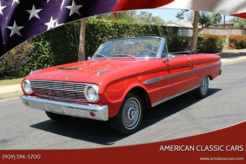 1963 Ford Falcon for sale at American Classic Cars in La Verne CA