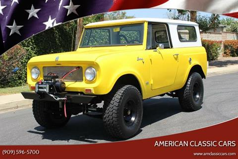 1969 International Scout for sale at American Classic Cars in La Verne CA