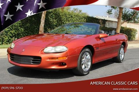 2002 Chevrolet Camaro for sale at American Classic Cars in La Verne CA