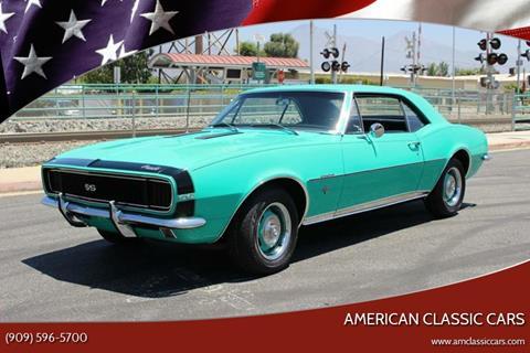 1967 Chevrolet Camaro for sale at American Classic Cars in La Verne CA