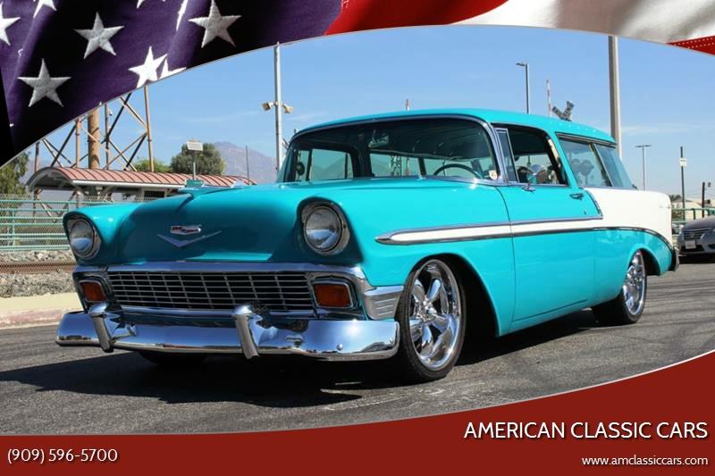 1956 Chevrolet Nomad In La Verne Ca American Classic Cars