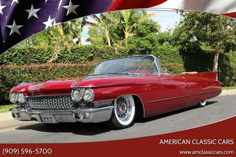 1960 Cadillac Series 62 for sale at American Classic Cars in La Verne CA