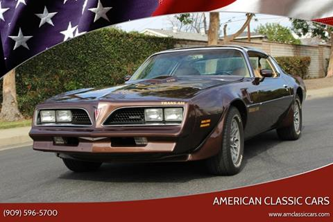 1977 Pontiac Firebird Trans Am for sale in La Verne, CA