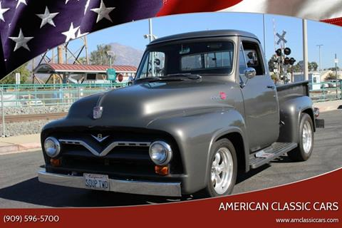1955 Ford F-100 for sale at American Classic Cars in La Verne CA