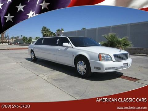 2004 Cadillac DTS for sale at American Classic Cars in La Verne CA
