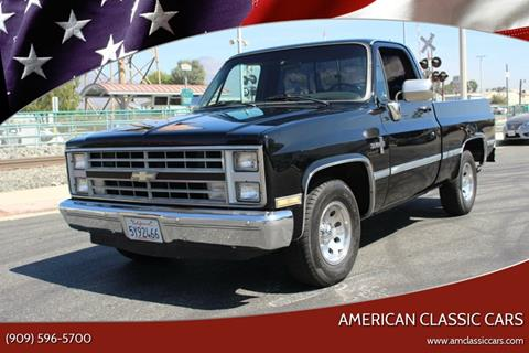 1986 Chevrolet C/K 10 Series for sale at American Classic Cars in La Verne CA
