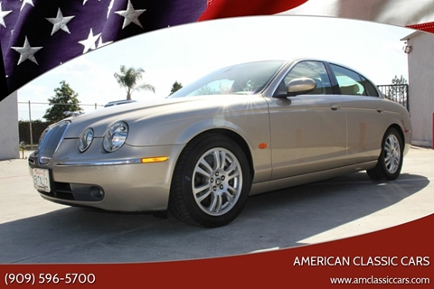 2005 Jaguar S-Type for sale at American Classic Cars in La Verne CA