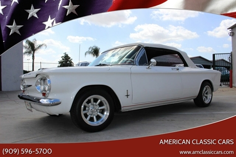1962 Chevrolet Corvair for sale at American Classic Cars in La Verne CA
