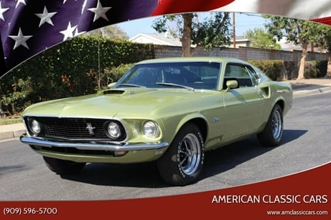 1969 Ford Mustang for sale at American Classic Cars in La Verne CA