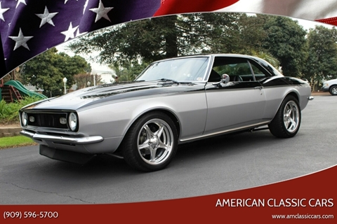 1968 Chevrolet Camaro for sale at American Classic Cars in La Verne CA