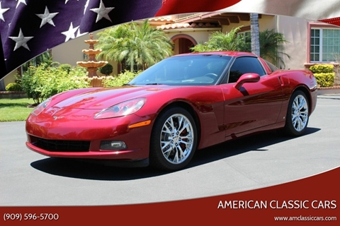 2007 Chevrolet Corvette for sale at American Classic Cars in La Verne CA