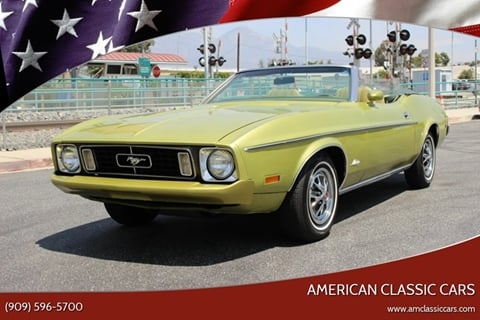 1973 Ford Mustang for sale at American Classic Cars in La Verne CA