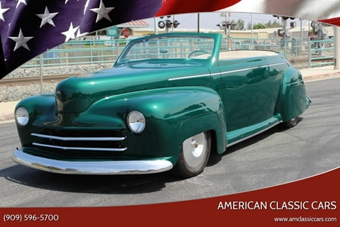 1947 Ford Custom for sale at American Classic Cars in La Verne CA