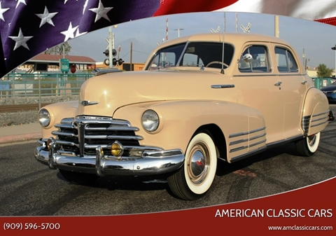 1947 Chevrolet Fleetline for sale at American Classic Cars in La Verne CA