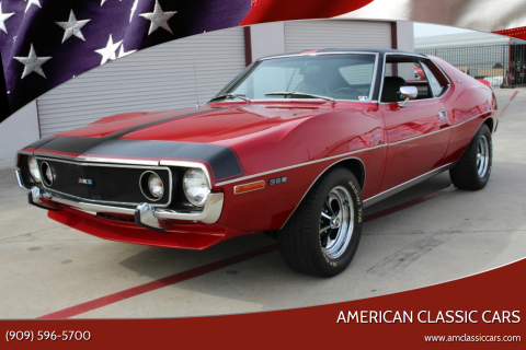 1971 AMC AMX Tribute for sale at American Classic Cars in La Verne CA