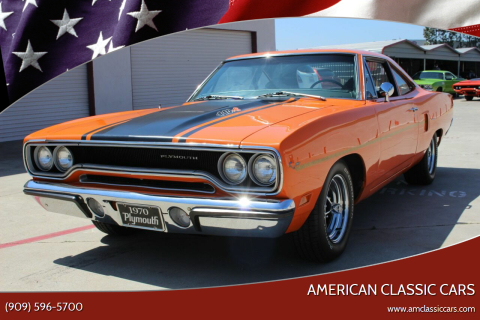 1970 Plymouth Roadrunner for sale at American Classic Cars in La Verne CA