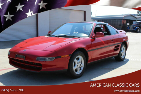 1991 Toyota MR2 for sale at American Classic Cars in La Verne CA