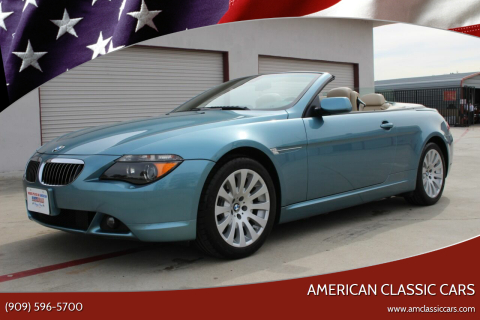 2004 BMW 6 Series for sale at American Classic Cars in La Verne CA
