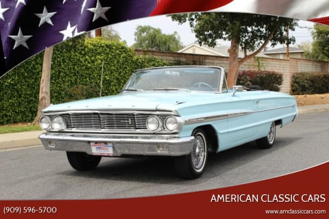 1964 Ford Galaxie 500 for sale at American Classic Cars in La Verne CA