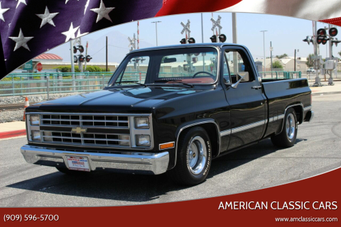 1987 Chevrolet R/V 10 Series for sale at American Classic Cars in La Verne CA