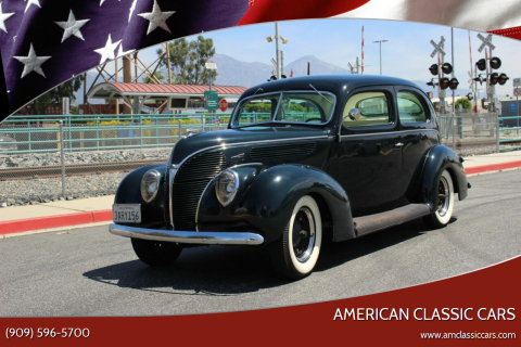 1938 Ford Tudor for sale at American Classic Cars in La Verne CA