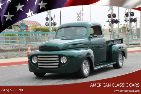 1948 Ford F-1 for sale at American Classic Cars in La Verne CA