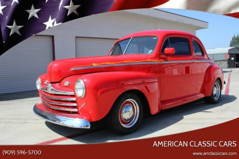 1946 Ford Super Deluxe for sale at American Classic Cars in La Verne CA