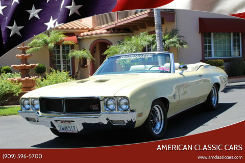 1970 Buick Gran Sport 455 for sale at American Classic Cars in La Verne CA