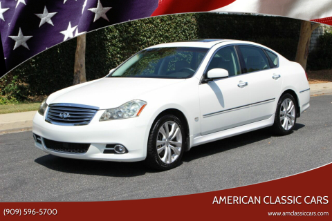 2009 Infiniti M35 for sale at American Classic Cars in La Verne CA