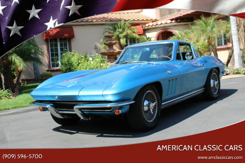 1965 Chevrolet Corvette for sale at American Classic Cars in La Verne CA