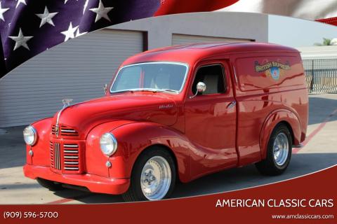 1954 Austin A40 Panel Van Custom for sale at American Classic Cars in La Verne CA