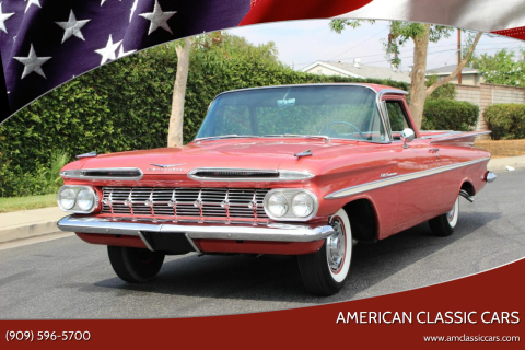 1959 Chevrolet El Camino for sale at American Classic Cars in La Verne CA