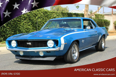 1969 Chevrolet Camaro for sale at American Classic Cars in La Verne CA