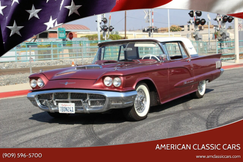 1960 Ford Thunderbird for sale at American Classic Cars in La Verne CA