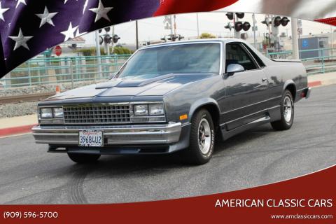 1987 Chevrolet El Camino for sale at American Classic Cars in La Verne CA