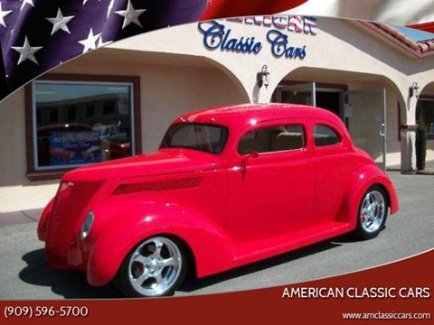 1937 Ford CLUB CPE for sale at American Classic Cars in La Verne CA