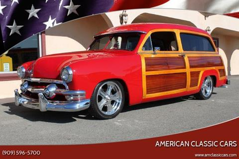 1951 Ford Country Squire for sale at American Classic Cars in La Verne CA