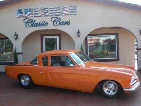 1953 Studebaker Champion for sale at American Classic Cars in La Verne CA