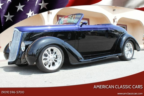 1936 Plymouth ROADSTER for sale at American Classic Cars in La Verne CA