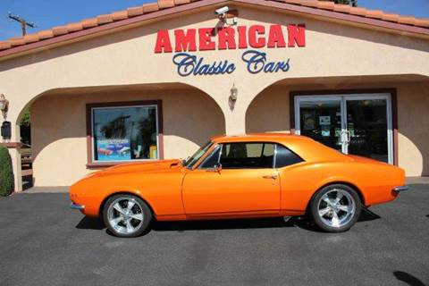 1967 Chevrolet Camaro for sale at American Classic Cars in La Verne CA